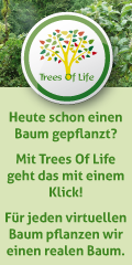 Trees Of Life Banner 3Z Hochformat